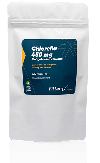 Chlorella 450 mg 120 tabletten