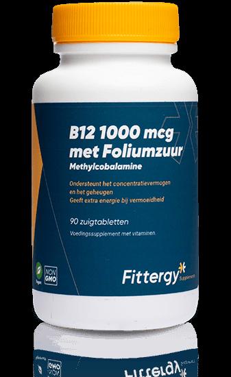 Vitamine B12 - 90 zuigtabletten