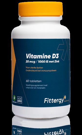 Vitamine D3 + Zink 25 mcg - 60 tab