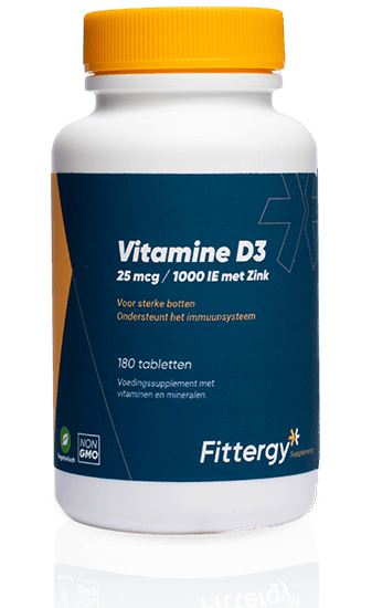 Vitamine D3 + Zink 25 mcg - 180 tab