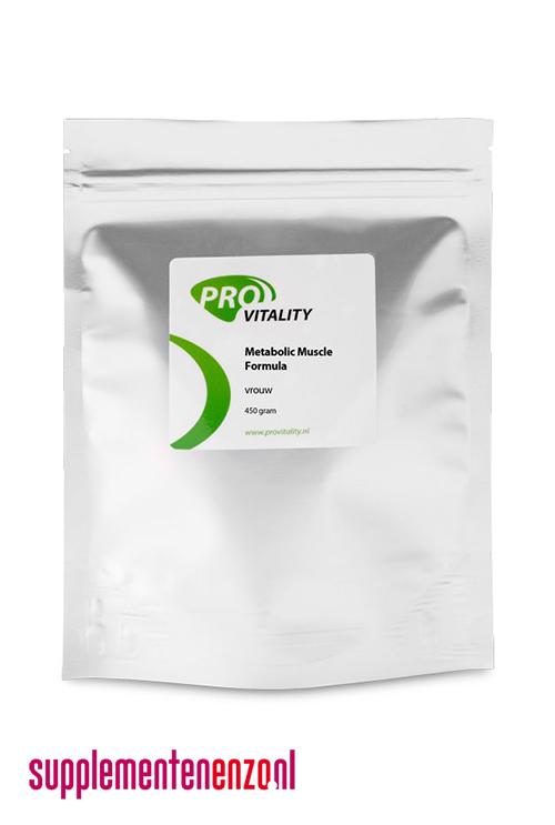 Metabolic muscle formula vrouw-150 gram