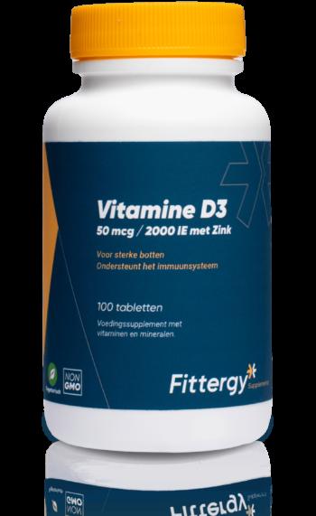 Vitamine D3 + Zink 50 mcg - 100 tab